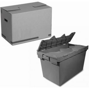 Pappkarton / Kunststoffkiste für Lager oder Transport kaufen