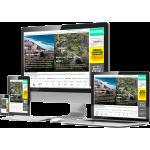 GCMonitor Signage-Werbung oder Bildschirmaufstellung buchen